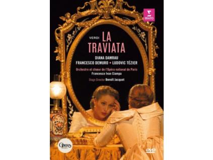 DAMRAU/DEMURO/TEZIER/CIAMPA - La Traviata: Opera De Paris (Ciampa) (DVD)