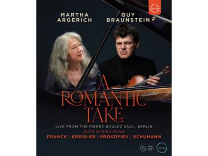 MARTHA ARGERICH & GUY BRAUNSTEIN - A Romantic Take - Martha Argerich & Guy Braunstein In Concert (Blu-ray)