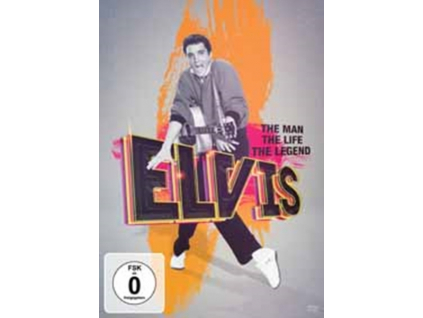 ELVIS - The Man The Life The Legend (DVD)