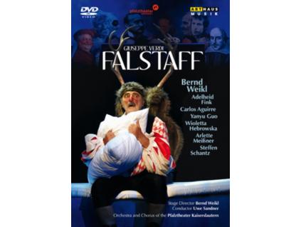 WEIKL - FINK - AGUIRRE - GUO - HEBROWSKA - Verdi-Falstaff (DVD)
