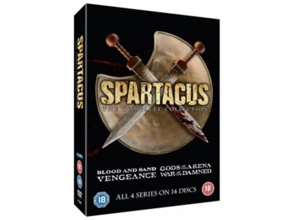 Spartacus Complete  Slim Edition (DVD Box Set)
