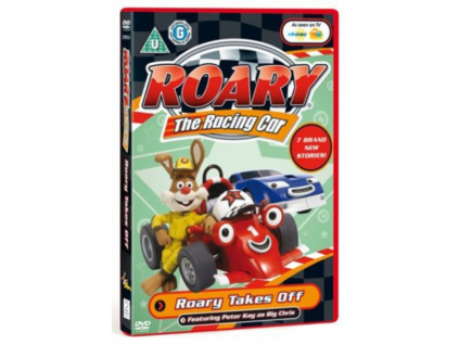 Roary The Racing Car Roary Takes Off (DVD)