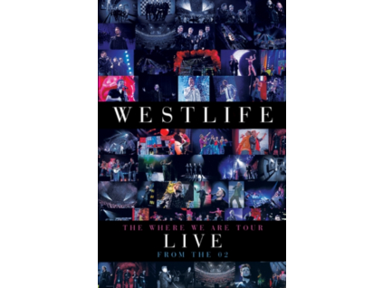 WESTLIFE - The Where We Are Tour (DVD)