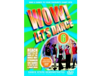 VARIOUS ARTISTS - Wow Lets Dance  Vol 6 (DVD)