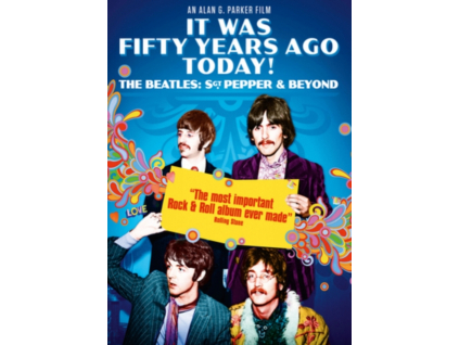 BEATLES - It Was 50 Years Ago Today...(The Making Of Sergeant PepperS Lonely Hearts Club Band) (DVD)