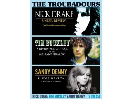 NICK DRAKE / TIM BUCKLEY / SANDY DENNY - The Troubadours (DVD)