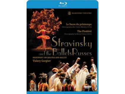 MARIINSKY OR  CHGERGIEV - Stravinsky  Ballets R (Blu-ray)