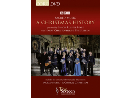 SIXTEEN / HARRY CHRISTOPHERS - Various: Christmas History (DVD)