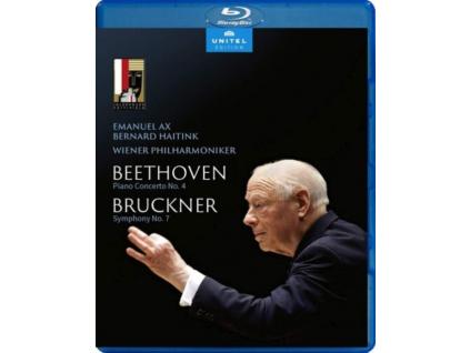 AX / WIENER PHIL / HAITINK - Bernard Haitink - Farewell Concert At Salzburg Festival: Ludwig Van Beethoven: Piano Concerto No. 4 / Anton Bruckner: Symphony No. 7 (Blu-ray)