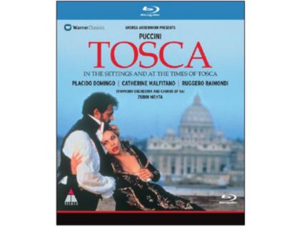 DOMINGO/MALFITANO/RAIMONDI - Puccini/Tosca (Blu-ray)
