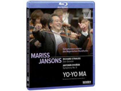 YOYO MA BAVARIAN  RSO  JANSONS - Strauss  Don Quixote (Blu-ray)