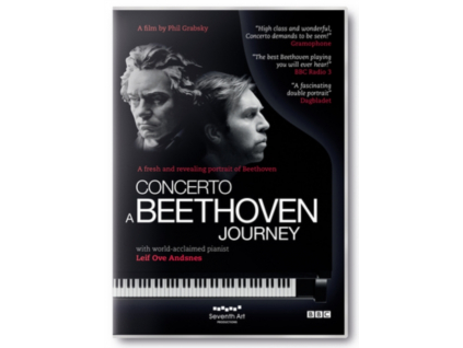 LEIF OVE ANDSNES - Concertoa Beethoven Journey (DVD)