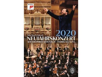 ANDRIS NELSONS & WIENER PHILHARMONIKER - Neujahrskonzert 2020 / New Years Concert 2020 (DVD)