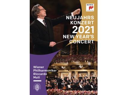 RICCARDO MUTI & VIENNA PHIL-HARMONIC - New Years Concert 2021 (DVD)