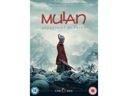 Mulan Legendary Warrior (Blu-ray)