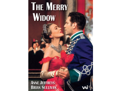FRANZ LEHAR - The Merry Widow - Anne Jeffreys / Brian Sutherland Telecast (DVD)