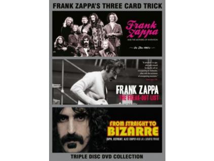 FRANK ZAPPA - Three Card Trick (DVD)