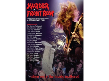 Murder In The Front Row: The San Francisco Bay Area Thrash Metal Story (DVD)