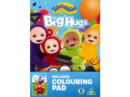 Teletubbies: Brand New Series- Big Hugs With Colouring Book (Limited Edition) (DVD)