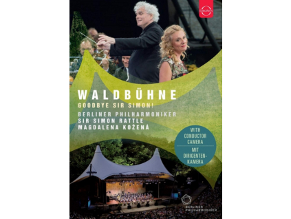 BERLINER PHILHARMONIKER & SIR SIMON RATTLE - Waldbuhne 2018 - Goodbye Sir Simon! (Blu-ray)