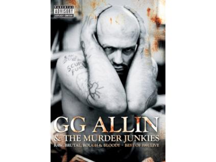 GG ALLIN - Raw.Brutal.Rough & Bloody-1991 (DVD)