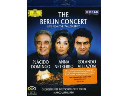 DOMINGO/NETREBKO/VILLAZON - Berlin Concert. The (Blu-ray)
