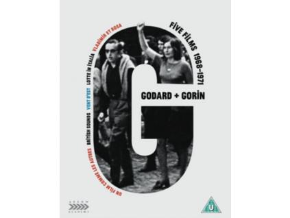 Jean-Luc Godard + Jean-Pierre Gorin: Five Films 1968-1971 (Blu-ray + DVD)