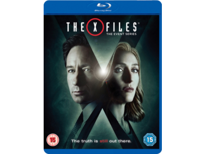 Xfiles The Event Series (Blu-ray)