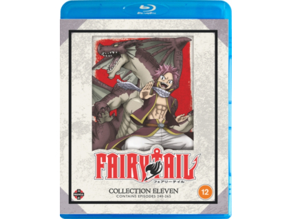 Fairy Tail Collection 11 (Episodes 240-265) (Blu-ray)