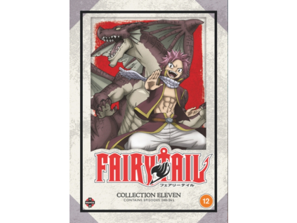Fairy Tail Collection 11 (Episodes 240-265) (DVD)