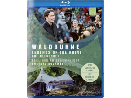 BERLINER PHILHARMONIKER / GUSTAVO DUDAMEL - Berliner Philharmoniker - Waldbuehne 2017 - Open Air Berlin - Gustavo Dudamel (Blu-ray)