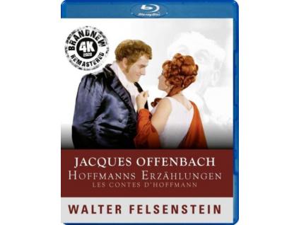 HANNS NOCKER / MELITTA MUSZELY / RUDOLF ASMU / WERNER ENDERS / VLADIMIR BAUER / ALFRED WROBLEWSKI - Jacques Offenbach / Walter Felsenstein: Hoffmanns Erzahlungen (Blu-ray)