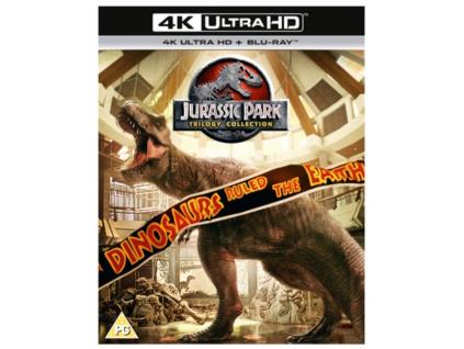 Jurassic Park Trilogy - (4K UHD) (Blu-ray 4K)