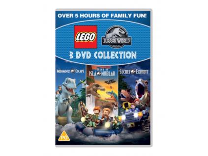 Lego Jurassic Triple (DVD)
