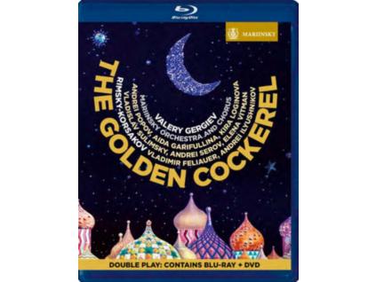 MARIINSKY ORCHESTRA & CHORUS & GERGIEV - The Golden Cockerel (Blu-ray + DVD)