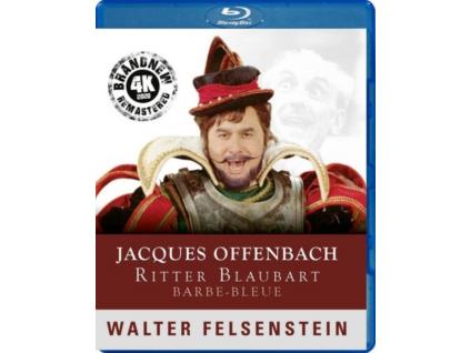 HANNS NOCKER / ANNY SCHLEMM / WERNER ENDERS / RUTH SCHOB-LIPKA / INGRID CZERNY / MANFRED HOPP - Jacques Offenbach / Walter Felsenstein: Ritter Blaubart (Blu-ray)