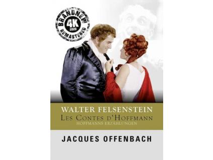 HANNS NOCKER / MELITTA MUSZELY / RUDOLF ASMU / WERNER ENDERS / VLADIMIR BAUER / ALFRED WROBLEWSKI - Jacques Offenbach / Walter Felsenstein: Hoffmanns Erzahlungen (DVD)