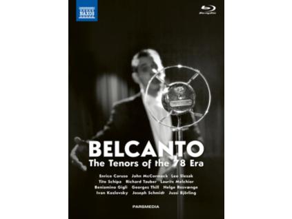 CARUSO / TAUBER / GIGLI - Bel Canto (Blu-ray Box Set)