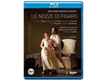 MOZART WOLFGANG AMADEUS - Tezierfrittolipisaronijo (Blu-ray)
