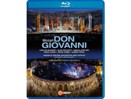 VARIOUS ARTISTS - Wolfgang Amadeus Mozart: Don Giovanni (Blu-ray + DVD)