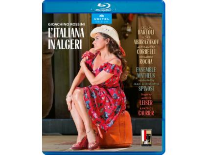 VARIOUS ARTISTS - Gioachino Rossini: LItaliana In Algeri (Blu-ray + DVD)