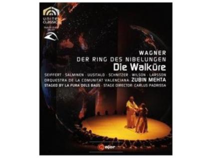 SEIFFERTSALMINENMEHTA - Wagnerdie Walkure (Blu-ray)