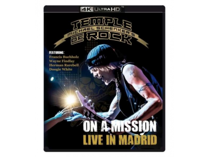 MICHAEL SCHENKERS TEMPLE OF ROCK - On A Mission  Live In Madrid (Blu-ray)