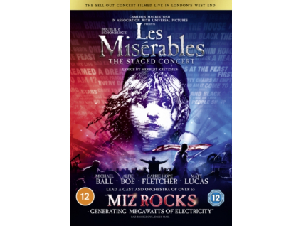 Les Miserables: The Staged Concert (DVD)