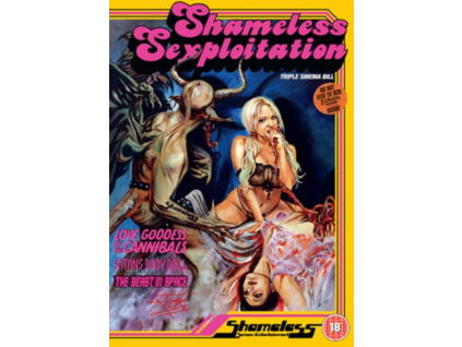 Shameless Sexploitation Boxset (DVD)