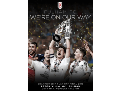 Fulham Fc - Were On Our Way. Championship Play-Off Final 2018 (DVD)