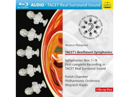 POLISH CHAMBER PHILHARMONIC ORCHESTRA WOJCIECH RAJSKI - Tacets Beethoven Symphonies 19 On 3 Bluray Surround Sound (Blu-ray)