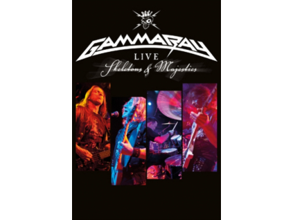 GAMMA RAY - Live - Skeletons & Majesties (DVD)