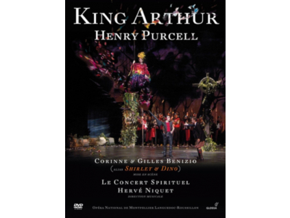 LABIN/SANTON-JEFFERY - Purcell/King Arthur (DVD)