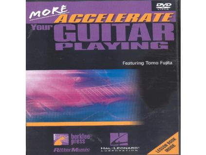 TOMO FUJITA - More Accelerate Your Guitar Playing (DVD)